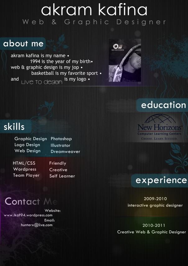 Akram Kafina CV