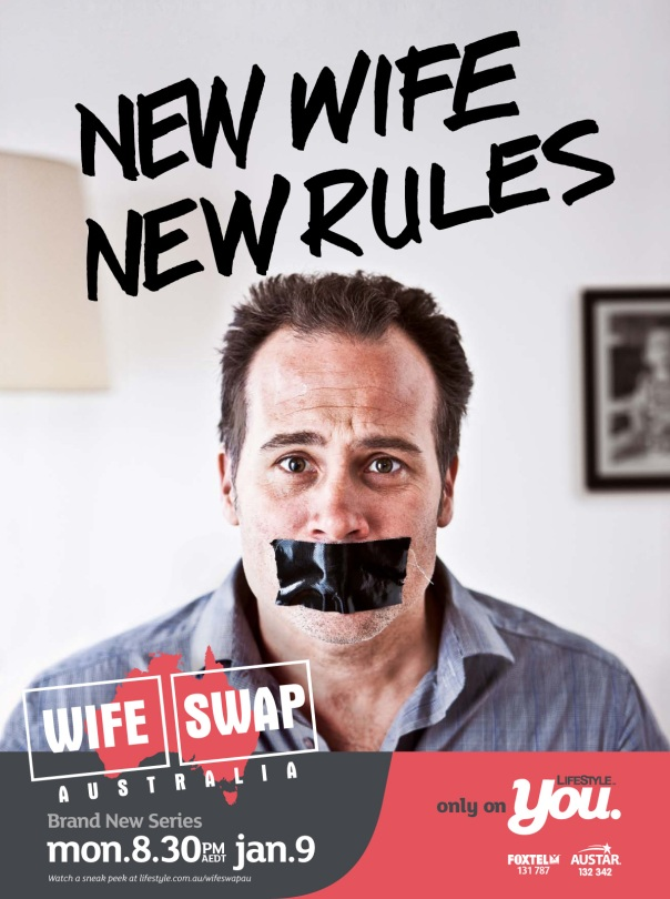 "(Print) Wife Swap ""NEW WIFE, NEW RULES"""