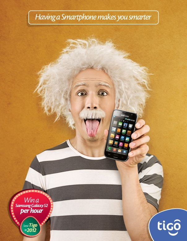 "Tigo Smartphone ""Having a Smartphone makes you smarter."".jpg"