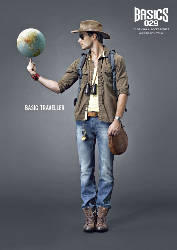 "(Print) Basics 029 ""Basic traveller"""