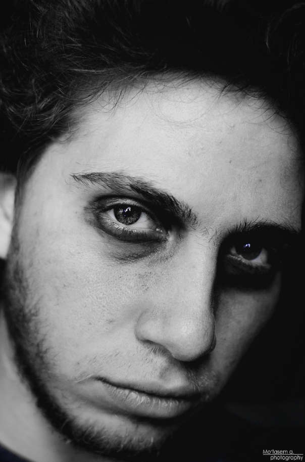 look me in the eyes and tell me you mean it © Mo'tasem Awad