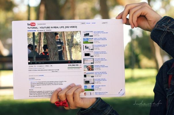 Youtube in Real Life © Jude Al-Safadi
